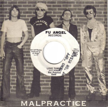 Original sleeve for Malpractice seven inch